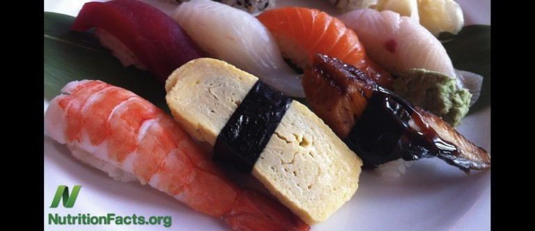 Fecal Contamination of Sushi