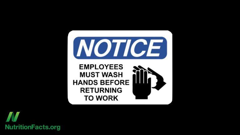 NF-Restaurant Worker Hand Washing