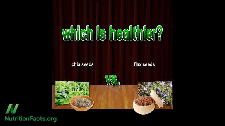 Flaxseeds vs. Chia Seeds