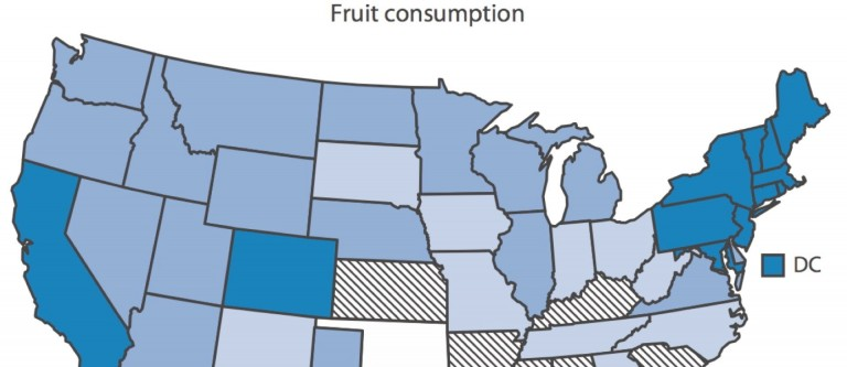 SAD States: Standard American Diet State-By-State Comparison