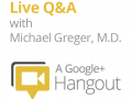 Live Q&A with Michael Greger, M.D.
