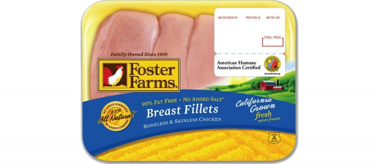 Foster Farms Responds to Chicken Salmonella Outbreaks