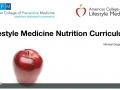 Lifestyle Medicine Nutrition Curriculum Webinar